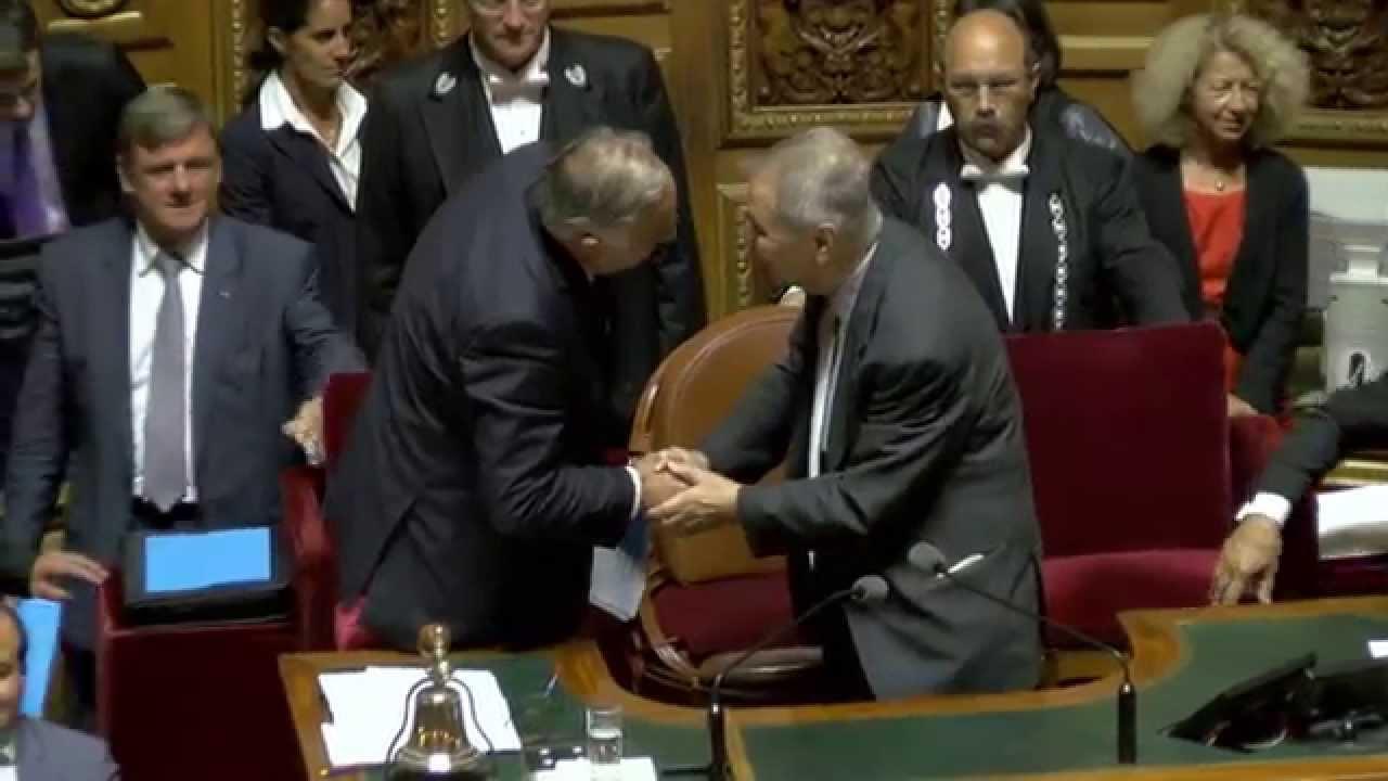 Gérard Larcher, sénateur UMP des Yvelines, élu Président du Sénat