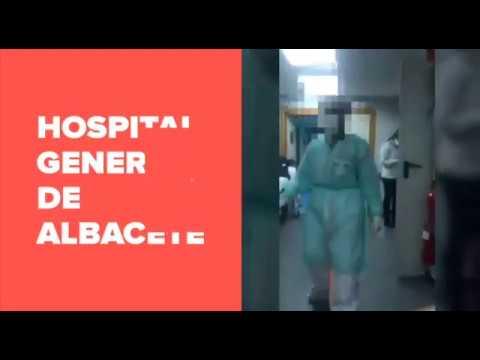 VÍDEO | Sanitarios del Hospital de Albacete denuncian la falta de camas en Urgencias ante el coronavirus