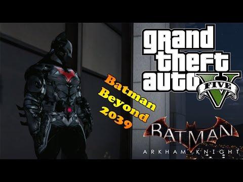 Arkham Knight Batman Beyond 2039