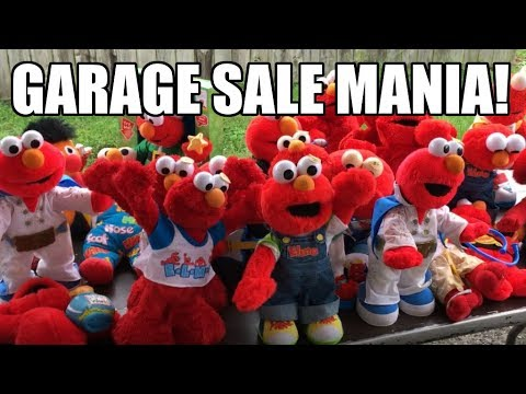 How To Make Money At Garage Sales!  Attack Of The Crazy Lady Neighbor!