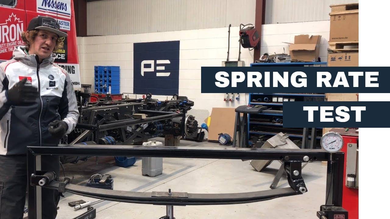 Spring Rate Tester / Dyno - MBHA Truck Racing Leaf Springs