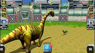 Max Level Brontosaurus - Jurassic Park Builder JURASSIC Tournament Android Gameplay HD
