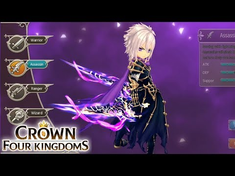 Crown Four Kingdoms Gameplay (MMORPG) Android / IOS