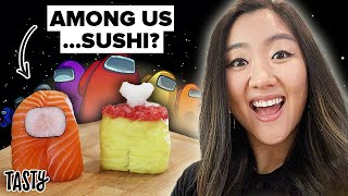 I Tried To Make The Viral Among Us Sushi Characters from TikTok • Tasty