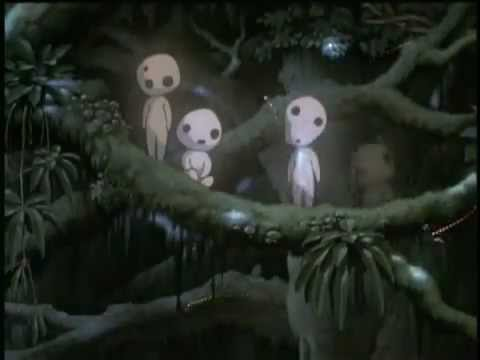 Принцесса мононоке мультфильм 1997 трейлер