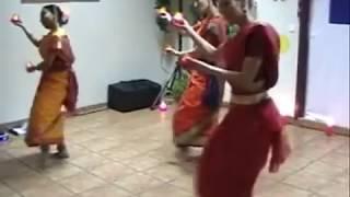 ICAE-Diwali 2010-Diya dance presentation