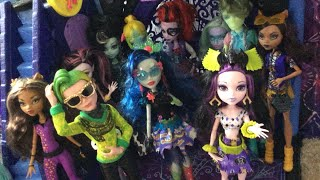 LIZZIE'S HUGE MONSTER HIGH THRIFT STORE DOLL HAUL! | 15 dolls! | Sweet Screams, Boo York, +more!