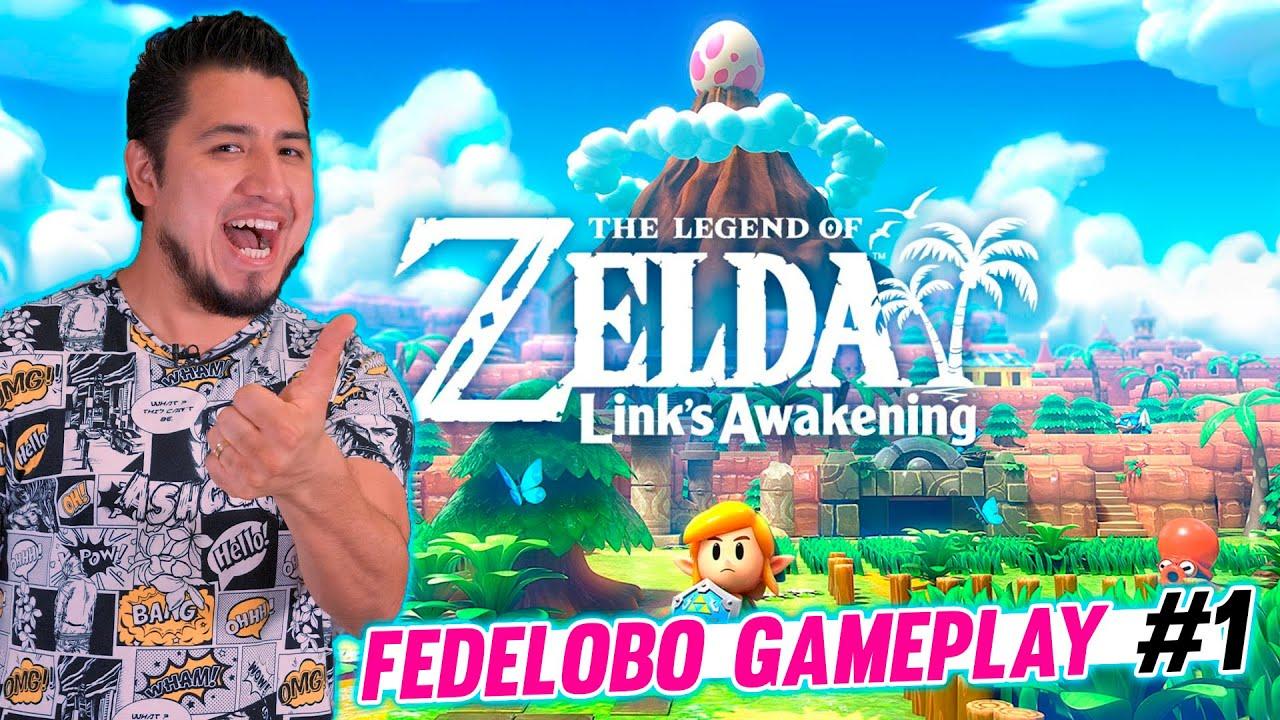 Fedelobo Juega Zelda Link's Awakening #1 | FEDELIVE