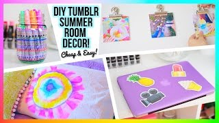 Diy Tumblr Room Decor! | Easy & Cheap!