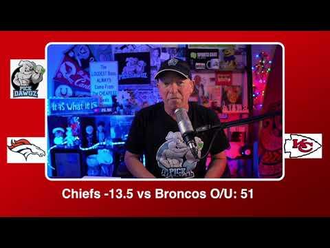Kansas City Chiefs vs Denver Broncos 12/6/20 NFL Pick and Prediction Sunday Week 13 NFL