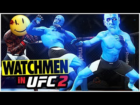 Dr Manhattan from WATCHMEN in EA SPORTS UFC 2 | Ultimate team CAF Gameplay
