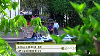 Buscan reabrir el Lago Santander en Rionegro