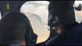 Pedro Sánchez visita las zonas afectadas por el temporal en Almería