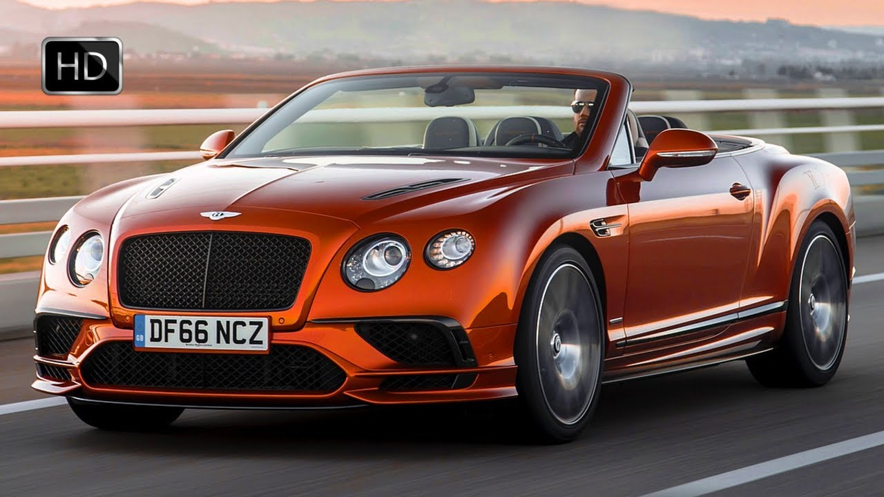 Gt Continental 2018 >> 2018 Bentley Continental GT Supersports Convertible (Orange Flame) HD - YouTube