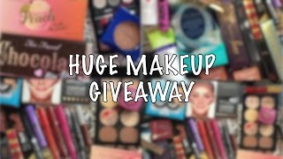 Makeup Giveaway Toofaced Peach Palette, Mac Limited Edition, WetNWild Mega Glow + SO MUCH MORE