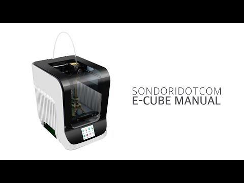 [3D프린터] E-CUBE 메뉴얼