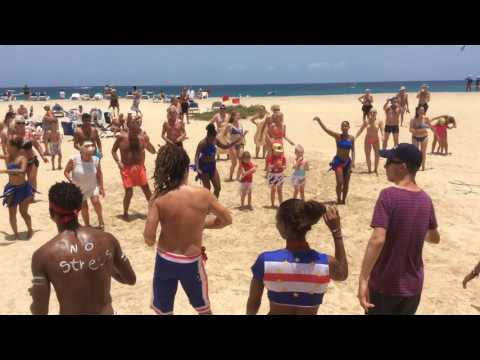 Riu Palace Sal Cape Verde Beach Party