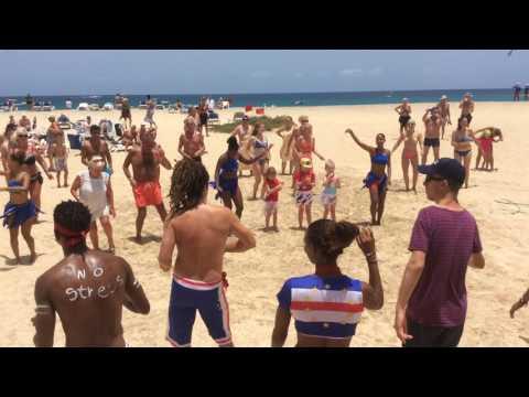 Riu Palace Sal Cape Verde Beach Party