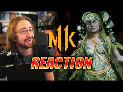 MAX REACTS: Cetrion - Reveal Trailer (MK11) thumbnail
