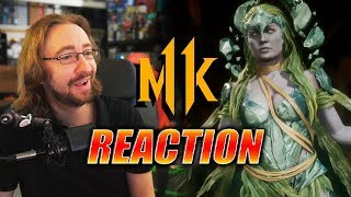 MAX REACTS: Cetrion - Reveal Trailer (MK11)