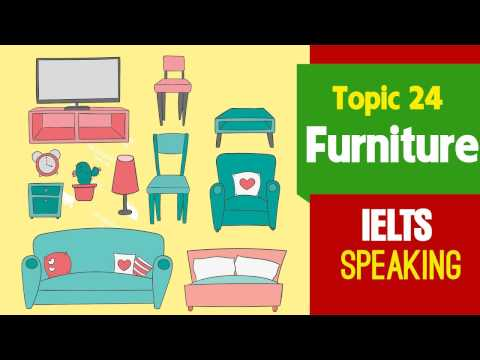 ✪ IELTS Speaking Test (Band 9) Part 2, 3: Topic 24 - Furniture