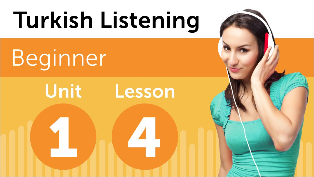 Turkish Listening Practice - Listening to a Turkish Forecast