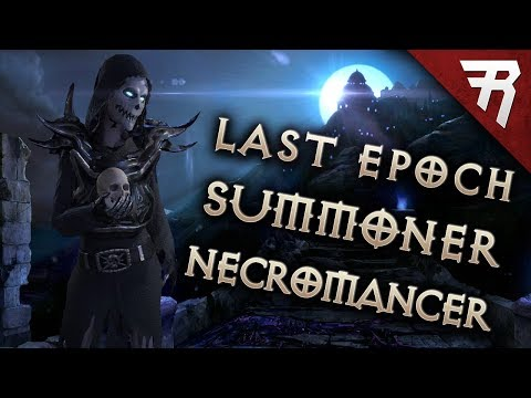 Necromancer hits Last Epoch RPG: Summoner Build (Alpha Preview / Demo Gameplay)
