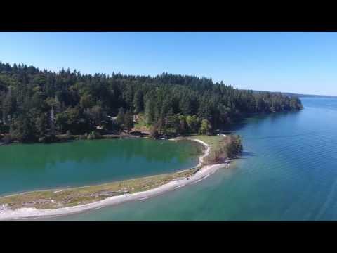Drone Video: Lakebay Marina Resort, May Cove, Puget Sound