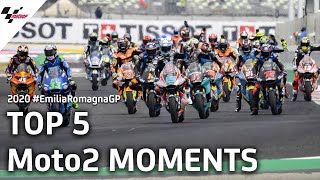 Top 5 Moto2 moments of the #EmiliaRomagnaGP