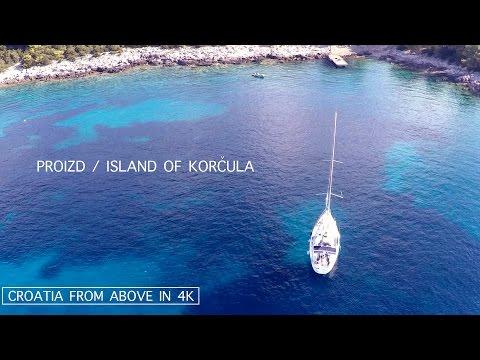 Visit Croatia 2017  | Korčula | Adriatic Sea | Hrvatska | Croatia | 4K | Aerial video