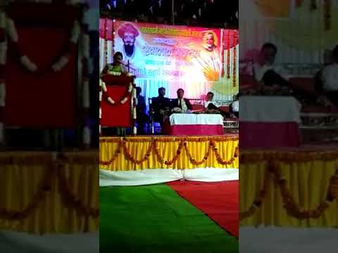Sant Sewalal jayanti celebrated in law college Nagpur  15 Feb 2018  speech by Archana chavhan