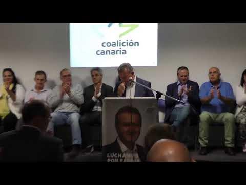 PRESENTACIÓN CANDIDATURA COALICIÓN CANARIA FASNIA.