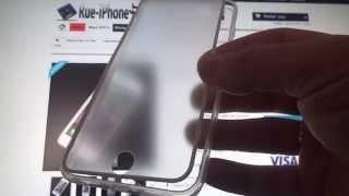 Coque Intégrale iPhone 6 Plus / 6S Plus Avant Tactile et Face Arrière Anti Choc