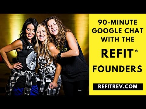 90 Minute GOOGLE LIVE CHAT with the REFIT® Founders!!