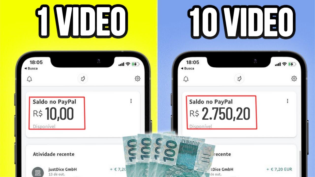 Receba $150 Para Assistir videos a Cada 5 MINUTOS de GRAÇA │Ganhar Dinheiro Online