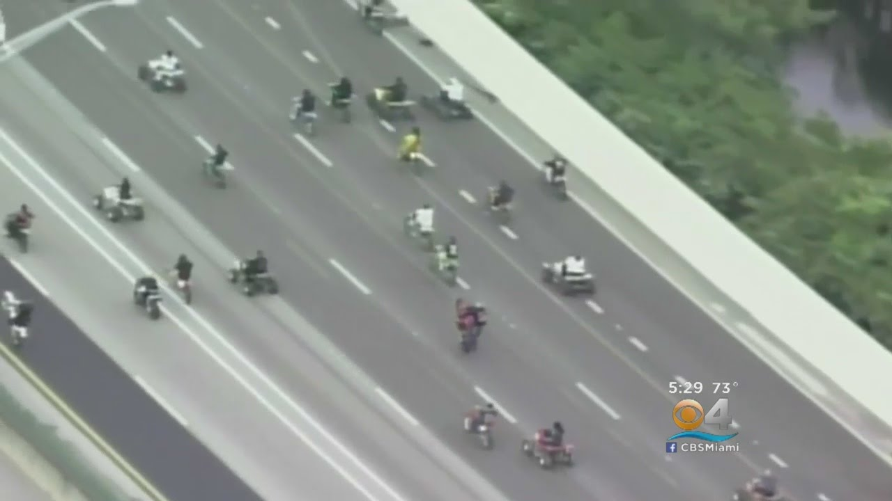 ca963193f6f Cops Want To Put Brakes On MLK Day Motorcycle Madness. CBS Miami