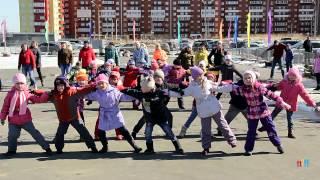 Флешмоб в детском саду