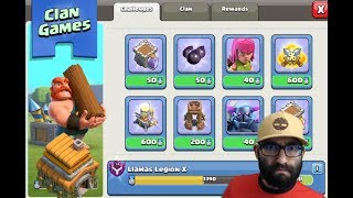 🔴 Clash of Clans // Clan Games During the Week??? // Town Hall 6 - Live Stream