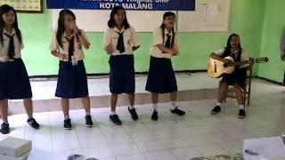 Waronjangan(Arr: Darwin Yapenrui) Vokal group SMPK Santa Maria II dalam FLS2N 2013