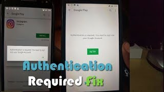 Authentication Is Required You Need To Sign Into Your Google Account  Fix