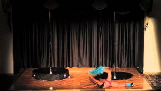 Windy City Pole Dance Competition 2013 Nadia Sharif