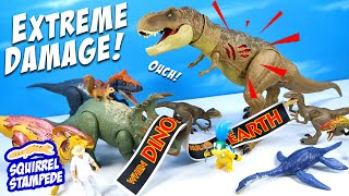 Jurassic World Camp Cretaceous Extreme Damage T Rex & Sinoceratops