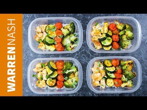Cajun Chicken Meal Prep With Rice & Broccoli - Recipes By Warren Nash