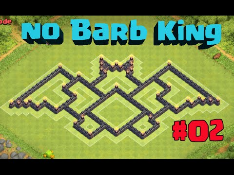 Clash Of Clans New Th7 Farming Base Coc Without Barbarian King