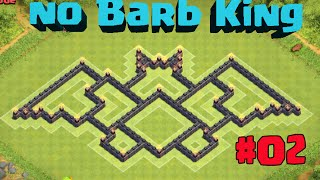 Clash of Clans - New TH7 Farming Base Coc Without Barbarian King | Dark Elixir Drill