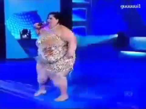 หญิงอ้วนเต้น แค่กล้าก็ชนะแล้ว