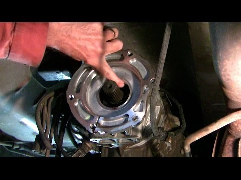 How to fix a transfer case oil leak, Dodge Ram - YouTube