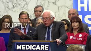 USA: 'Finally healthcare will be a right' - Sanders unveils universal healthcare bill