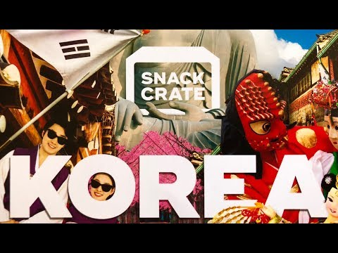 Trying the Snack Crate from South Korea!