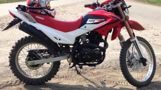 Обзор IRBIS TTR 250 2014г(Мотоцикл куплен в марте 2014г., 2015-02-27T19:44:31.000Z)